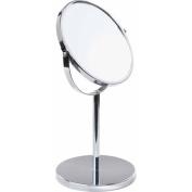 18cm Vanity 5x Standup Mirror, Chrome