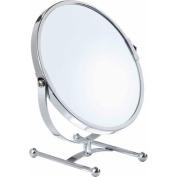 18cm Vanity 5x Mirror Counter, Chrome