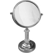 Elegant Home Fashions SM-DY7817 Freestanding Bath Magnifying Makeup Mirror