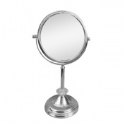 Elegant Home Fashions SM-DY7917 Freestanding Bath Magnifying Makeup Mirror