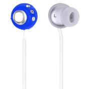 QFX Lightweight Stereo Earbuds-Blue