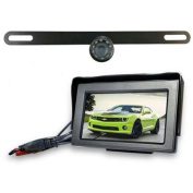 Top Dawg Wired Licence Plate Backup WideAngle HD Cam MS356LP