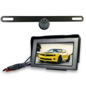 Top Dawg Wireless Licence Plate Backup WideAngle HD Cam MS435LPWA