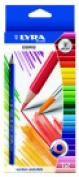 Lyra Osiris Non-Toxic Water Soluble Coloured Pencil With Paint Brush Pack 12