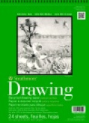 Strathmore 28cm x 36cm . 30 Percent Post Consumer Fibre Wire Binding Acid-Free Recycled Drawing Pad 24 Sheets