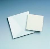 Amaco Decorated Ceramic Tile With Low Fire Glazes - 11cm x 11cm .