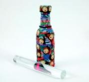 Amaco 20cm . Non-Stick Portable Poly Roller Acrylic Clear