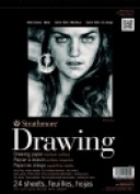 Strathmore Versatile Drawing Pad - 36kg. - 23cm x 30cm . - 24 Sheets Cream