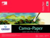 Canson Paper Pre-Primed Canvas Pad 30cm x 41cm .