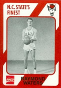 Raymond Waters Basketball Card (N.C. North Carolina State) 1989 Collegiate Collection No.127