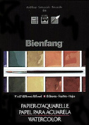 Bienfang R285631 Watercolour Pads 15 Sheets - 28cm X 38cm .