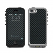 DecalGirl LN5C-CARBON Lifeproof iPhone 5C Nuud Case Skin - Carbon