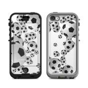 DecalGirl LN5C-LOSBALLS Lifeproof iPhone 5C Nuud Case Skin - Lots of Soccer Balls