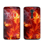 DecalGirl LGG9-FLWRFIRE LG G2 VS980 Skin - Flower Of Fire