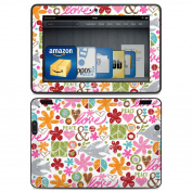 DecalGirl AKX7-PEACET Amazon Kindle HDX Skin - Peace Things