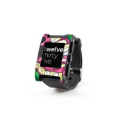 DecalGirl PWCH-MEANG Pebble Watch Skin - Mean Green