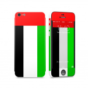 DecalGirl AIP5C-FLAG-UAEMIR Apple iPhone 5C Skin - United Arab Emirates Flag