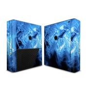 DecalGirl MXBE-QWAVES-BLU Microsoft Xbox 360 E Skin - Blue Quantum Waves