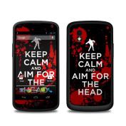 DecalGirl LGN4-KEEPCALM-ZOMBIE LG Nexus 4 Skin - Keep Calm - Zombie