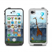 DecalGirl LCI4-ATCLOUDS Lifeproof iPhone 4 Case Skin - Above The Clouds