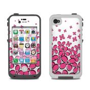 DecalGirl LCI4-DFIELD-PNK Lifeproof iPhone 4 Case Skin - Daisy Field - Pink