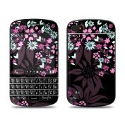 DecalGirl BQ10-DKFLOWERS BlackBerry Q10 Skin - Dark Flowers