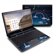 DecalGirl ACC7-RBOWS Acer Chromebook C7 Skin - Rainbows