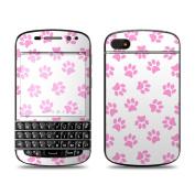 DecalGirl BQ10-CATPAWS BlackBerry Q10 Skin - Cat Paws