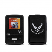 DecalGirl SSCZ-USAF-BLK SanDisk Sansa Clip Zip Skin - USAF Black