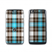 DecalGirl MAHD-PLAID-TUR Motorola Atrix HD Skin - Turquoise Plaid