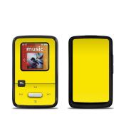 DecalGirl SSCZ-SS-YEL SanDisk Sansa Clip Zip Skin - Solid State Yellow