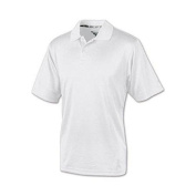 Champion H131 Double Dry Mens Solid-Colour Polo Shirt Size Large White
