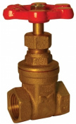 B And K Industries 100-001NL 2.5cm - 10cm . IPS 200 PSI Low Lead Gate Valve
