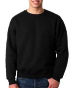 FOL 82300 Adult Supercotton Sweatshirt - Black 2XL