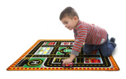 Round the City Rescue Rug - Vehicle Toy by Melissa & Doug