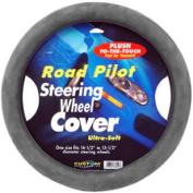 Unique Accessories 38552 Soft Steering Wheel Cover Grey