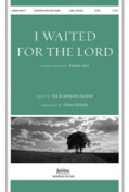 Alfred 00-9258237 I Waited For The Lord-Satb -Jc Book