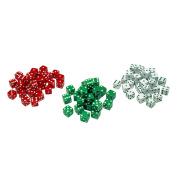 Learning Advantage CTU7366 Red Green & White Dot Dice 36/Pk