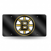 Boston Bruins Official NHL 30cm x 15cm Plastic Licence Plate by Rico Industries