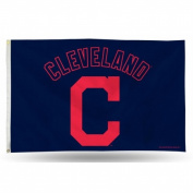 Rico Industries RIC-FGB4205 Cleveland Indians MLB 7.6cm x 13cm Banner Flag