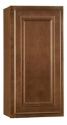 RSI Home Products Sales CBKW1530-COG 38cm x 80cm . Cafe Finish Assembled Wall Cabinet