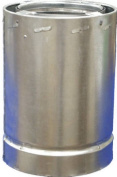 Airjet 6S3 15cm Class A Triple Wall Chimney Pipe - Quantity 1