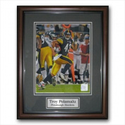 Image Sunwear Tree hugger 11 x 14 Unsigned Framed Photo - Pittsburgh Steelers Troy Polamalu