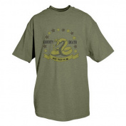 Fox Outdoor 64-462 S Dont Tread On Me T-Shirt Olive Drab - Small