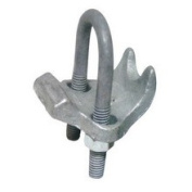 Morris 21857 Malleable Right Angle Pipe Clamps - 6.4cm .