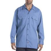 Dickies 574GB 2X Mens Long Sleeve Twill Work Shirt Gulf Blue 2X