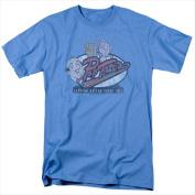 Archie Comics-Pop Tates - Short Sleeve Adult 18-1 Tee Carolina Blue - Large