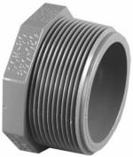 Charlotte Pipe PVC 08113 1400HA 2.5cm . PVC Schedule 80 Male Pipe Thread Plug