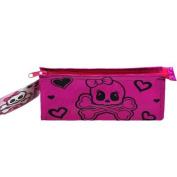 WeGlow International Girly Skull Design Foil Cosmetic Bag