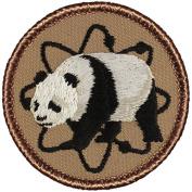 Atomic Panda Patrol Patch - 5.1cm Round.